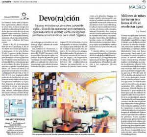 La Razón_22 marzo 2016